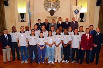 Participants of the Chief Coach Course of the IAAF World Academy for Coaches in Santa Fe (c)