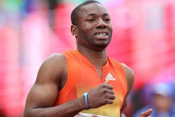 American sprinter Rakieem Salaam (Getty images)