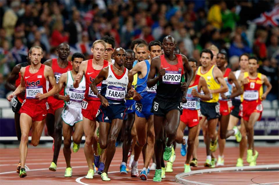 10000m image used in IAAF Disciplines (Getty images)