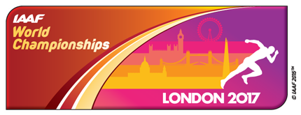 IAAF World Championships, London 2017 logo ()