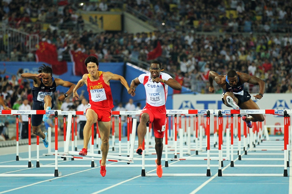 110m hurdles image for disciplines page only (Getty Images)