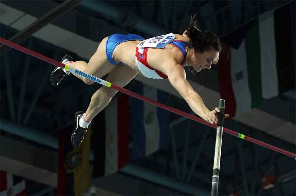 Pole Vaulter image used in IAAF Disciplines (Getty images)
