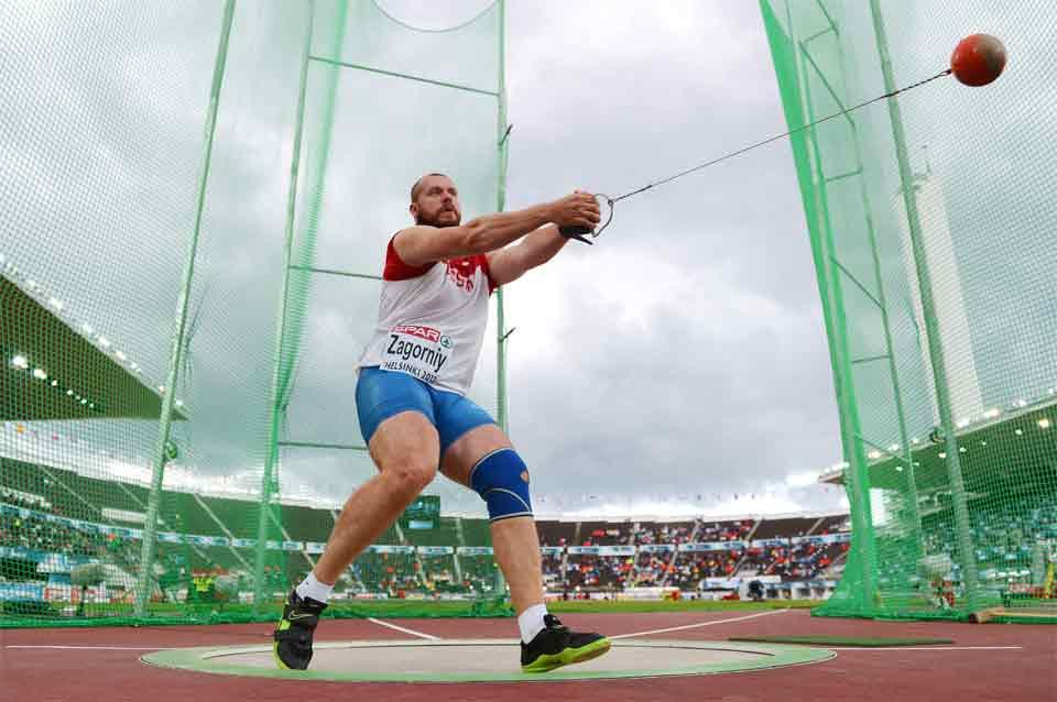 Hammer throw images for Discipline section of IAAF site (Getty images)