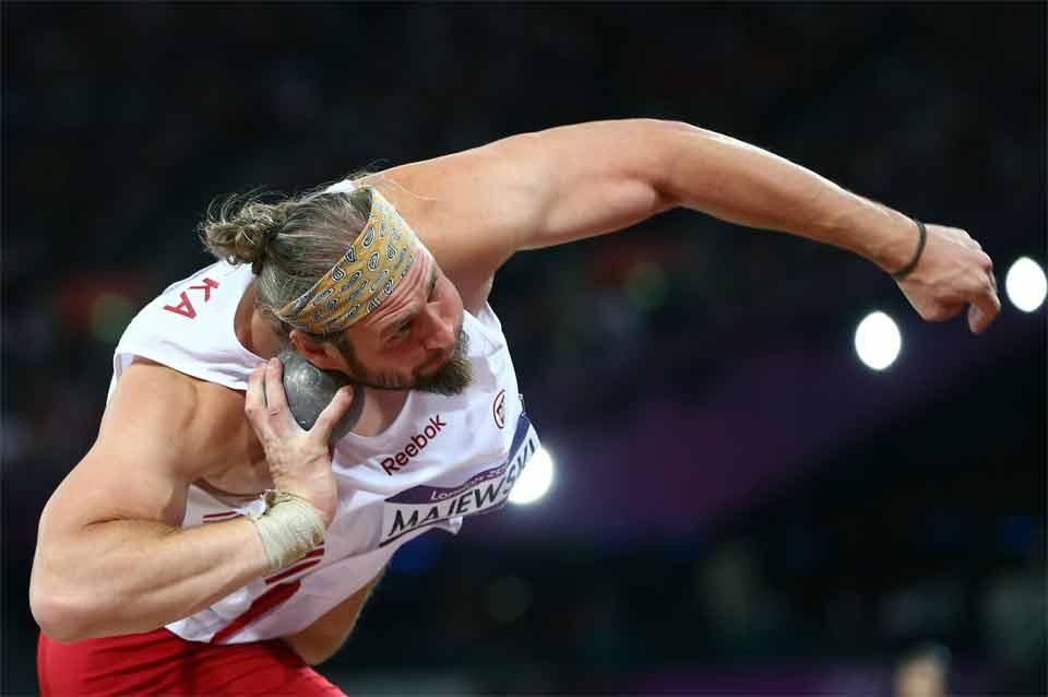 Shot put image for IAAF Discipline section (Getty Images)