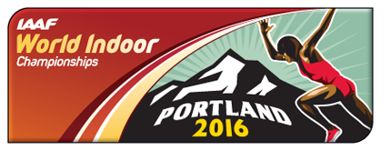 IAAF World Indoor Championships, Portland 2016 logo (IAAF)