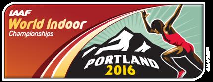 IAAF World Indoor Championships, Portland 2016 logo (IAAF)