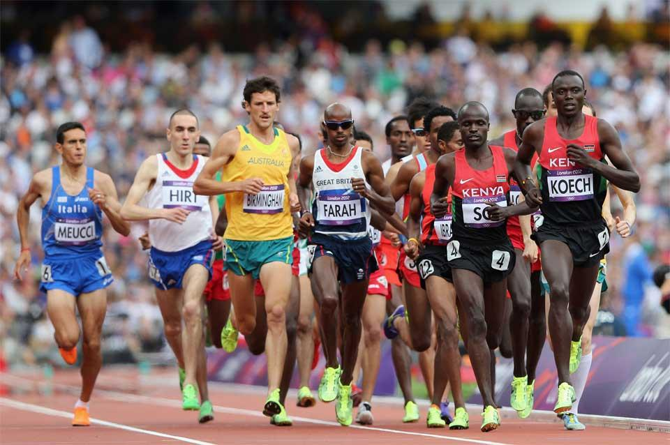 5000m image used in IAAF Discipline section (Getty images)