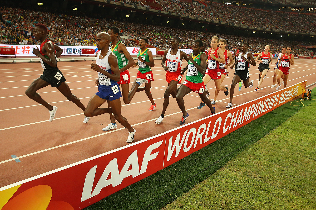 The men's 5000m final at the IAAF World Championships Beijing 2015 (Getty Images)