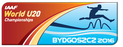 IAAF World U20 Championships Bydgoszcz 2016 logo ()