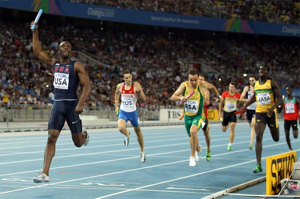 4x400 Image used in IAAF Disciplines page (Getty Images)