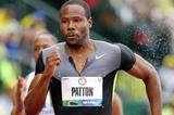 USA's Darvis Patton in action in the 100m (Getty Images)