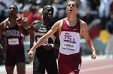 44.78 Belgian national record for Jonathan Borlee in Fayetteville (Kirby Lee)