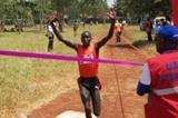 Ayeko Thomas takes the 2012 Ugandan XC title (Daniel Senfuma)