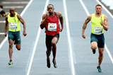 Usain Bolt wins the 100m in Rio (Getty Images)