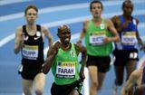 Mo Farah en route to his European indoor 5000m record in Birmingham (Getty Images)