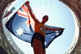 Having already won bronze in the 20km walk, Australia's Jared Tallent goes one better in the 50km event to clinch silver (Getty Images)