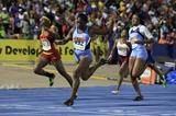 Christania Williams wins at the 2014 Boys and Girls Championships (Jean-Pierre Durand)