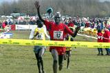 Benjamin Limo wins the 2003 Soria Cross Country (Luis Angel Tejedor Rubio)