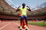 Tori Bowie at the Bird's Nest stadium ahead of the IAAF World Championships, Beijing 2015 (Getty Images)