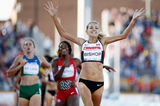 Melissa Bishop wins the 800m at the Pan American Games (Getty Images)
