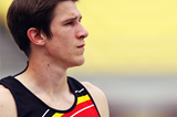 Thomas van der Plaetsen at the 2011 IAAF World Championships in Daegu (Getty Images)