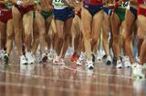 Race walkers in the rain as athletics competitions start on day seven in Beijing (IAAF.org)