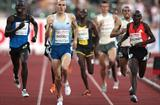 Andy Baddeley, surprise winner of the men's dream mile in Oslo, 2008 (Getty Images)