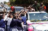 David Rudisha's homecoming celebration in Kilgoris, Kenya (Martin Mukangu (The Standard))
