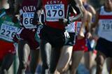 Brimin Kipruto of Kenya wins 1500m heat in Grosseto (Getty Images)
