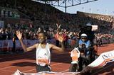 Haile Gebrselassie wins in Amsterdam (Capital Photos/Ruud Taal)