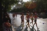 Sergey Kirdyapkin of Russia on his way to his second 50km Race Walk World Championship title (Getty Images)