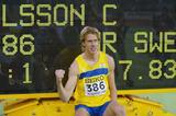 Christian Olsson (SWE) equels the World Indoor Triple Jump record (Getty Images)