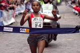 Abebech Afework romps to victory in the women's race (Organisers)