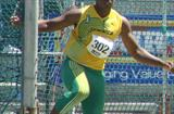 Jamaica's Travis Smikle, the U-20 CARIFTA Games champion in the Discus Throw (Carlos Clemente)