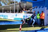 Willy Kibor winning the 2014 Sanlam Cape Town Marathon (organisers)