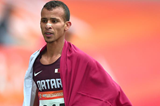 Mohamad Al-Garni, winner of the 1500m and 5000m at the Asian Championships (Organisers / Peh Siong San)
