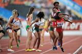 USA on their way to gold in the girls' medley relay at the 2013 World Youth Championships (Getty Images)