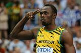 Usain Bolt in the mens 100m at the IAAF World Athletics Championships Moscow 2013 (Getty Images)