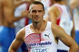 Roman Sebrle at the end of the Decathlon at the 2009 World Championships in Berlin (Getty Images)