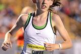 Aisling Cuffe en route to her 2-mile national high school best in Greensboro (Victah  Sailer)