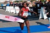 Fast 1:06:38 victory for Florence Kiplagat at the Roma Ostia Half Marathon (Organisers)