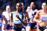 Eunice Sum at the 2015 IAAF Diamond League meeting in Birmingham (Jean-Pierre Durand)