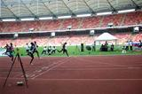 Gary Kikaya wins the 400m in 45.21sec at the 2009 Abuja CAA Gold Grand Prix (Louisette-R. Thobi)