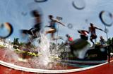 Athletes in action at Hayward Field in Eugene (Getty Images)