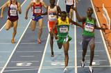 Abubaker Kaki wins the men's 800m (Getty Images)