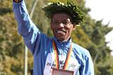 Third consecutive trip to the victory podium for Haile Gebrselassie in Berlin (Freelance)