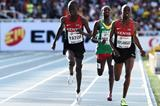 Richard Yator Kimunyan wnning the boys' 3000m at the IAAF World Youth Championships, Cali 2015 (Getty Images)