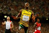 Usain Bolt wins the 200m at the IAAF World Championships, Beijing 2015 (Getty Images)