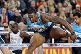 David Oliver winning at the 2013 IAAF Diamond League meeting in Stockholm (DECA Text & Bild)