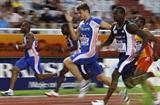 Christophe Lemaitre of France wins the 100m at the IAAF / VTB Bank Continental Cup in Split (Getty Images)
